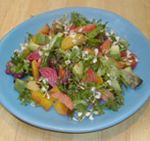 roasted beet & blood orange salad from Santa Monica Farmer's Market Cookbook by Amelia Saltsman